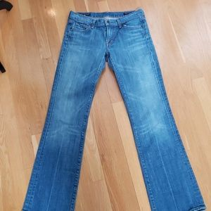 Citizens of Humanity bootcut lowrise jeans